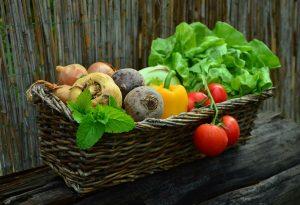 Benefits of Organic food like tomatoes, lettus, beets...